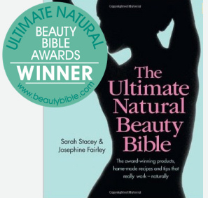 Winner of Ultimate Natural Beauty Bible Award